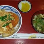 新居浜こくりょう食堂 - 料理写真:かつ丼