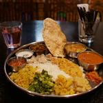 インド食堂 チャラカラ - 料理写真:南インド ベジミールス