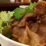 神戸牛丼 広重 - すき焼きみたいな良いお肉!