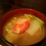 神戸牛丼 広重 - 野菜たっぷりで美味しい