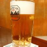 ちゃんこ増位山 - 生ビール