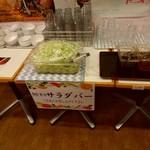 とんちき麺 - 【2018.1.6(土)】サラダバー