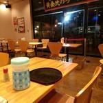 とんちき麺 - 【2018.1.6(土)】店内の写真