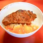 和田金 - 料理写真:ランプとご飯