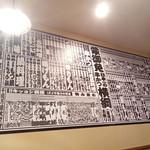 79026098 - 壁のメニュー番付