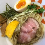 79026198 - 柚子白湯つけ麺  アップ
