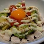 鶏匠庵 - アボカ丼
