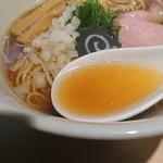 らぁ麺 はやし田 - のどぐろスープ