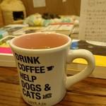 Cat's Meow Books - コーヒー1杯300円です。