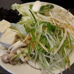 しゃぶ葉 - 野菜