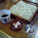 みとしろ - 料理写真:定番の 十割 せいろ(ざる)蕎麦 八七〇円