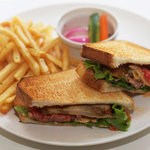 グディーズ - スパイシーチキン サンドイッチ