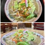 きりばる食堂 - 料理写真:ちゃんぽん 600円
