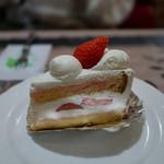 パーラーレストラン モモヤ - ショートケーキ