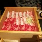 駿府の台処 静岡ごぜん - せいろ蒸しのお肉 金豚王&葵