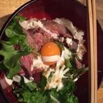 オーガニックカフェ アンド ヤクシュバー ガト サノ - ローストビーフ丼並 880円