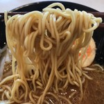 はま寿司 - 北海道濃厚味噌ラーメンの麺