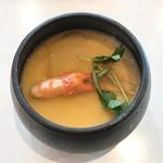 はま寿司 - 蟹のあんかけ茶碗蒸し