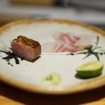 すし瀬名波 - 鮪と鯛
