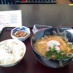 明峰庵 - 料理写真:きつねうどん定食