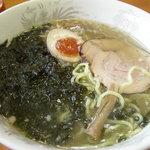 龍喜 - 岩のりラーメン750円也