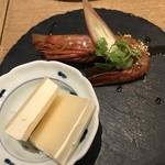 china bistro 八寸 - 【2018.1.3】牡丹海老の紹興酒漬け¥580