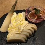 china bistro 八寸 - 【2018.1.3】竹の子の王様 緑竹¥580