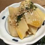china bistro 八寸 - 【2018.1.3】台湾ソフトメンマ。