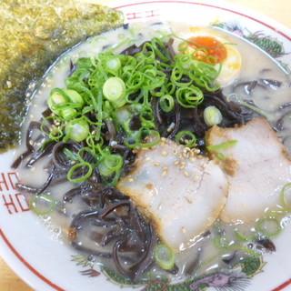 壱番亭 - 料理写真:私はラーメンにきくらげ増量で