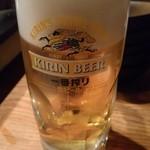 79041615 - 生ビール(淡麗)