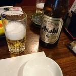 魚ちょ - 瓶ビール