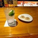 Bar Grand Pa  - ジントニック、おつまみ