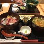 79045786 - 海鮮丼+ミニうどん