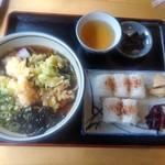 79046236 - 天ぷら蕎麦定食