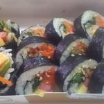 カンナムキンパ - 7種具材の野菜キンパ 680円(税込)