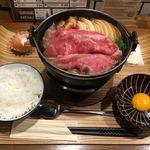 佰食屋 すき焼き専科 - すき焼き定食