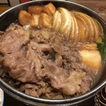 佰食屋 すき焼き専科 - 鍋アップ