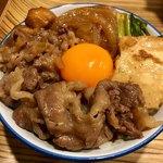 佰食屋 すき焼き専科 - ミニすき焼き丼