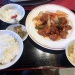 山泉楼 - 料理写真:スブタ定食1512円