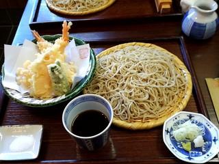 蕎麦切り 稲おか - 天ぷらせいろ