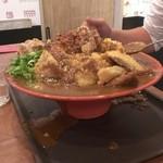 フジヤマドラゴンカレー京橋店 - チャレンジメニューMEGA カレー2500g