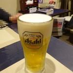 中華和膳 毘膳 - 生ビール500円