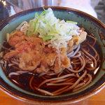 幸寿司 - 天ぷらそば・大盛(390円)