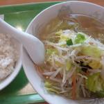 おなかの友達 萬来 - '18/01/07 麺&半ライス
