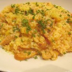 79055951 - スパイシーチョリソーと野菜のトマトソースリゾット