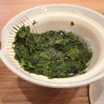 茶菓 えん寿 - 煎茶「はるみどり」の茶葉