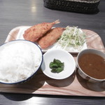 Cin.na.mon - 魚フライ定食