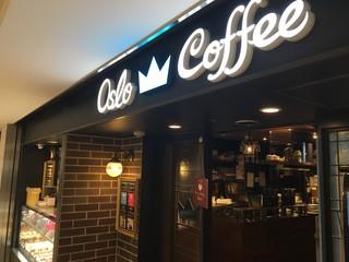 オスロ コーヒー 横浜ジョイナス店 - 白にちょっとブルーがカッチョイイ