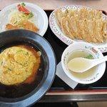 餃子の王将 - 料理写真:王将セット