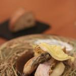 シエル エ ソル - キハタと牡蠣のポアレ
